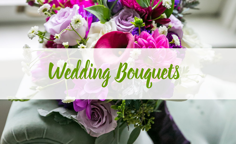 A photo image gallery of flower bouquets.